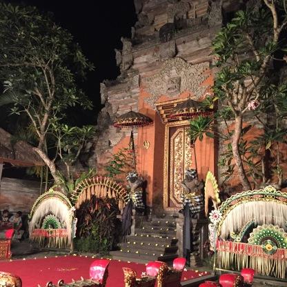 Nuansa Bali begitu kental